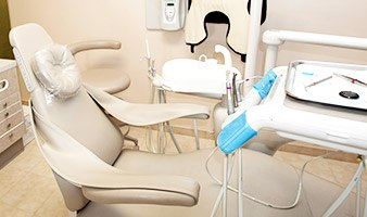 State-of-the-art dental chair