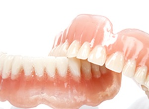 dentures in solution